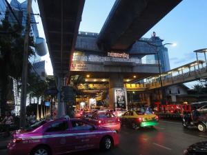 Район Силом в Бангкоке