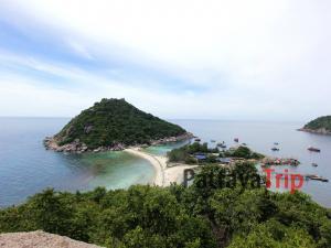 Смотровая площадка на острове Нанг Юань (рядом с Ко Тао)