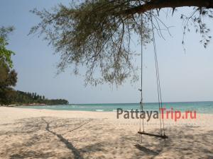 Качели на пляже Та Кхиан