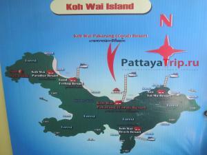 Карта Ко Вай