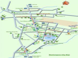 Карта Мэхонгсона