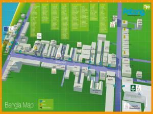 3д карта Бангла Роуд