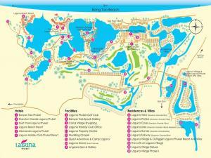 Карта отелей в Банг Тао