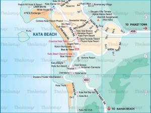 Карта Ката и Ката Ной