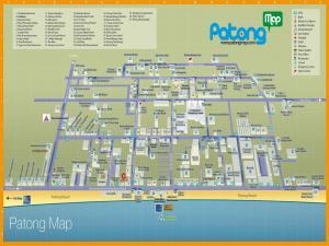 Карта Патонг Бич