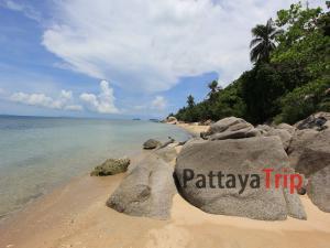 Пляж Хаад Рин Най на острове Панган