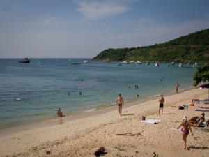 Пляж Обезьян на Ко Лане