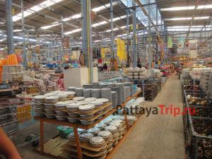 B.L.Commerce - сток центр некондиционных товаров для дома в Паттайе