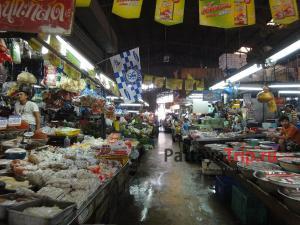 Рынок на Южной улице в Паттайе