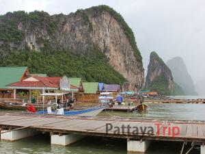 Ko Panyi - деревня рыбаков, провинция Пханг Нга
