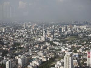 Вид на Бангкок с Байок Скай