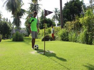 Футбол-гольф на Самуи