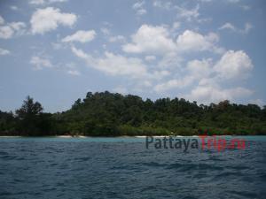 Остров Ко Крадан в Тайланде