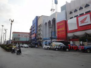 Город Трат в Тайланде