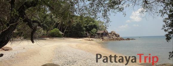 Haad Kruad - пляж Пхангана (Тайланд)