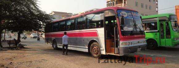 Автобус из Koh Kong в Сиануквиль